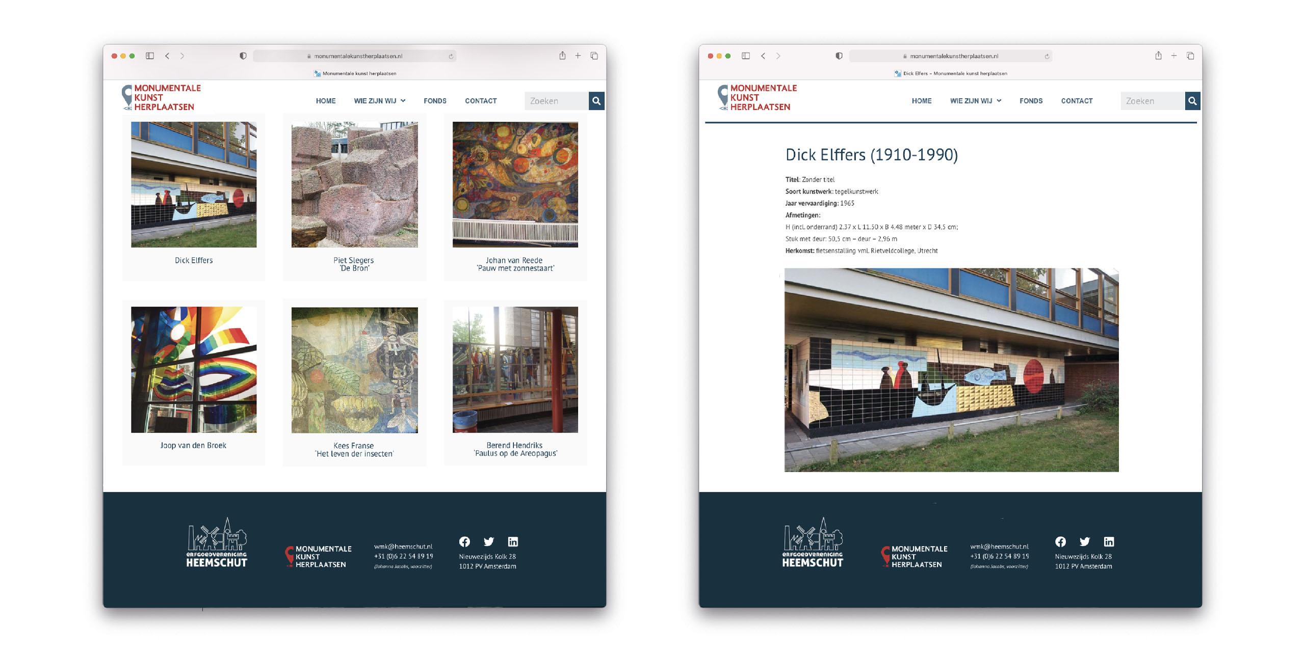 Website www.monumentalekunstherplaatsen.nl