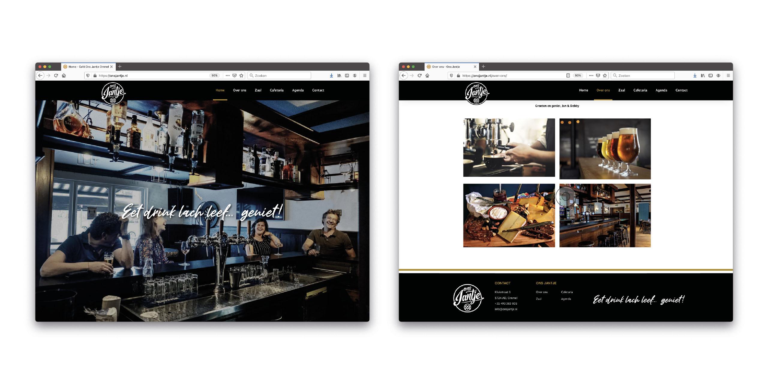 Website www.onsjantje.nl