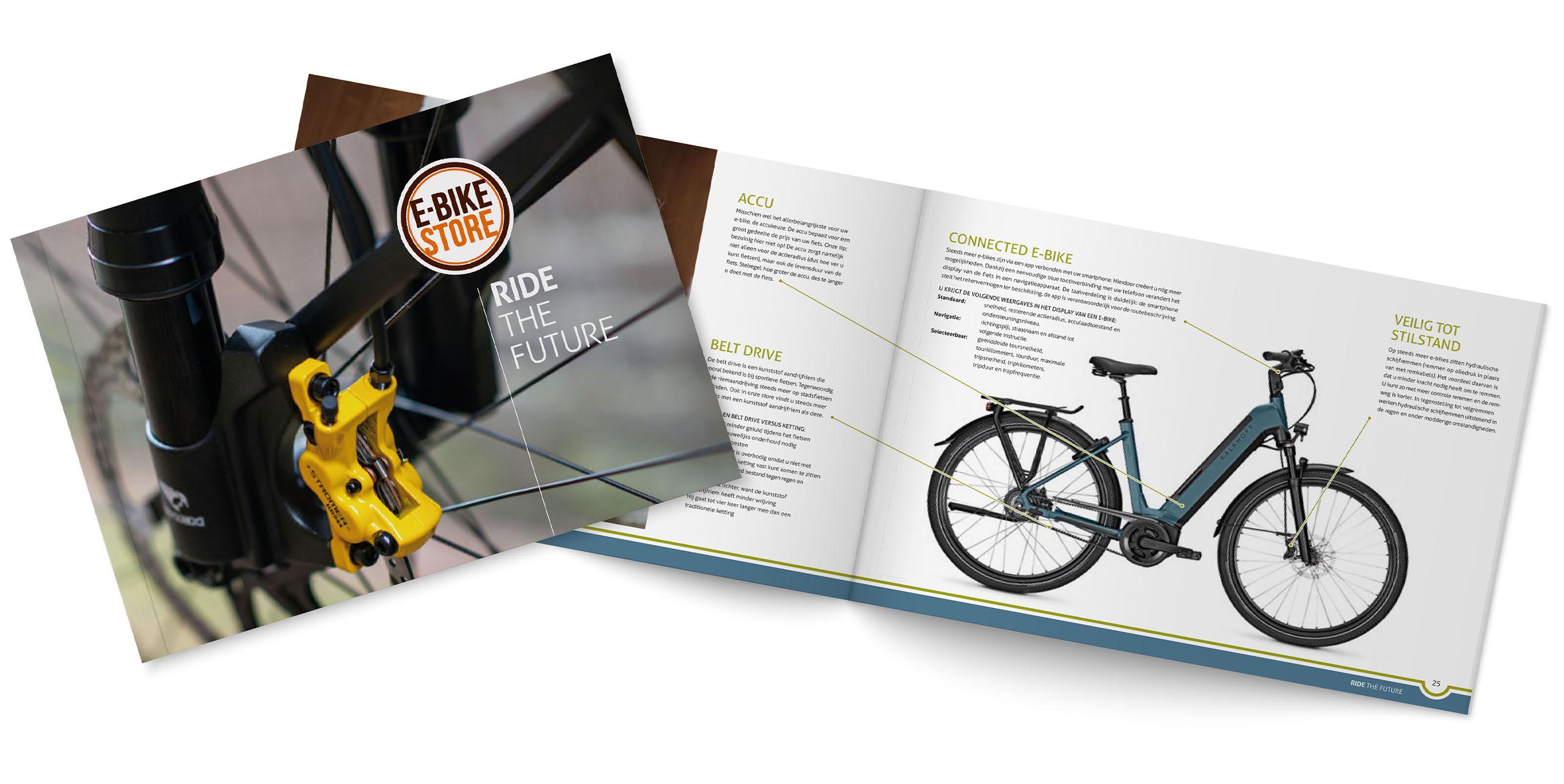 E-bike Store Brochure